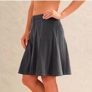 Athleta Whatever Pleated Skirt Gray